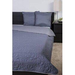 Naturtex ágytakaró Emily microfiber szürke-grafit 235x250cm