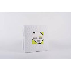 Naturtex ágytakaró Emily microfiber fehér-kockás 235x250cm