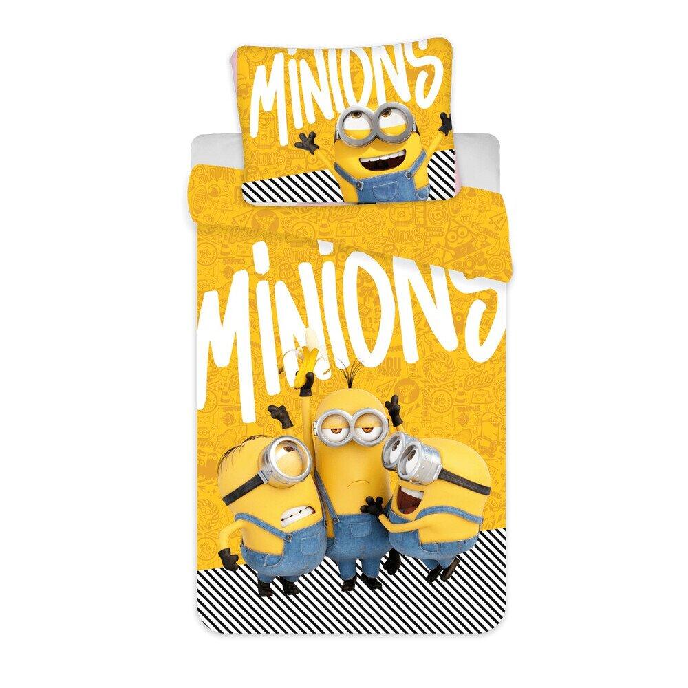 Disney Minyonok 02 Yellow pamut-vaszon gyerek agynemu