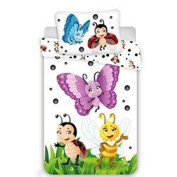 Katicabogarak 2 reszes Disney pamut-vaszon ovis gyerekagynemu