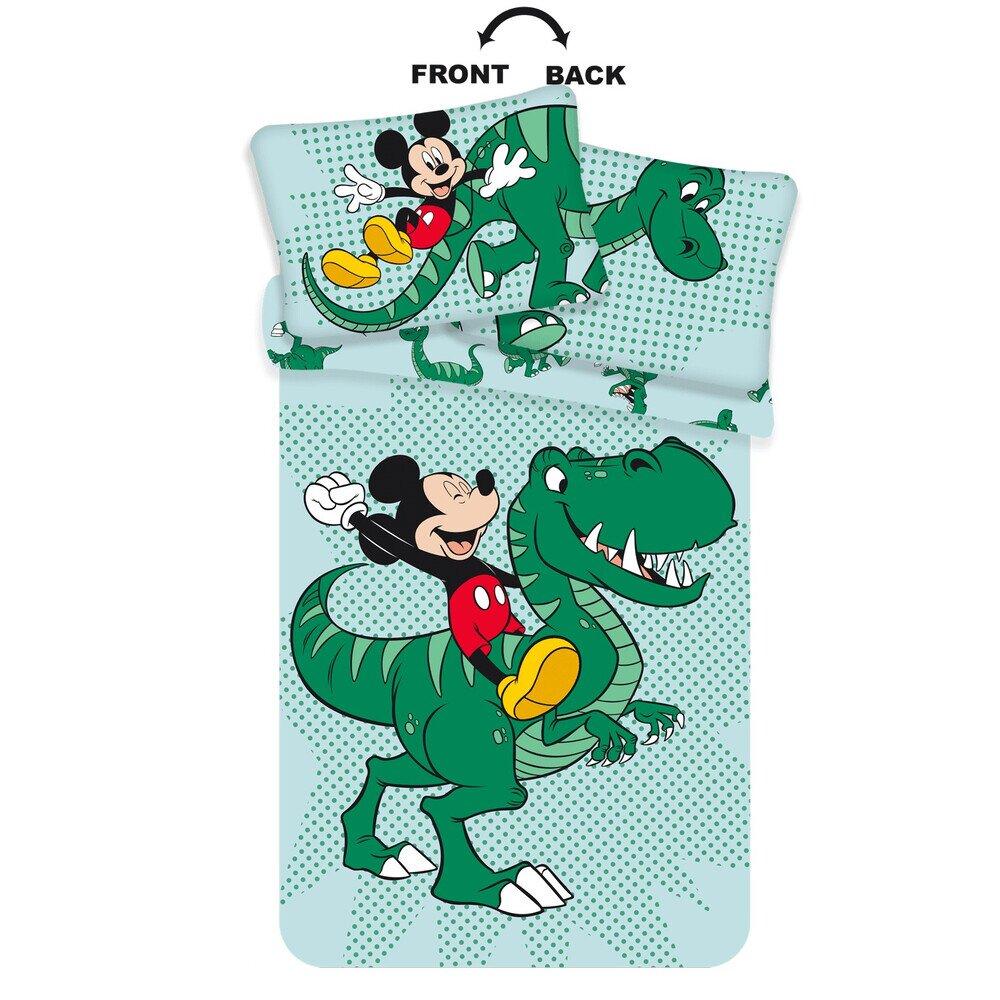 Mickey eger Dinoval 2 reszes Disney pamut-vaszon ovis gyerekagynemu