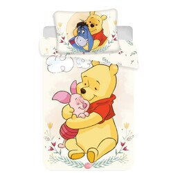 Ágyneműhuzat ovis Micimackó cute Disney pamut-vászon