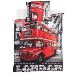 London 2 részes pamut-vászon ágyneműhuzat