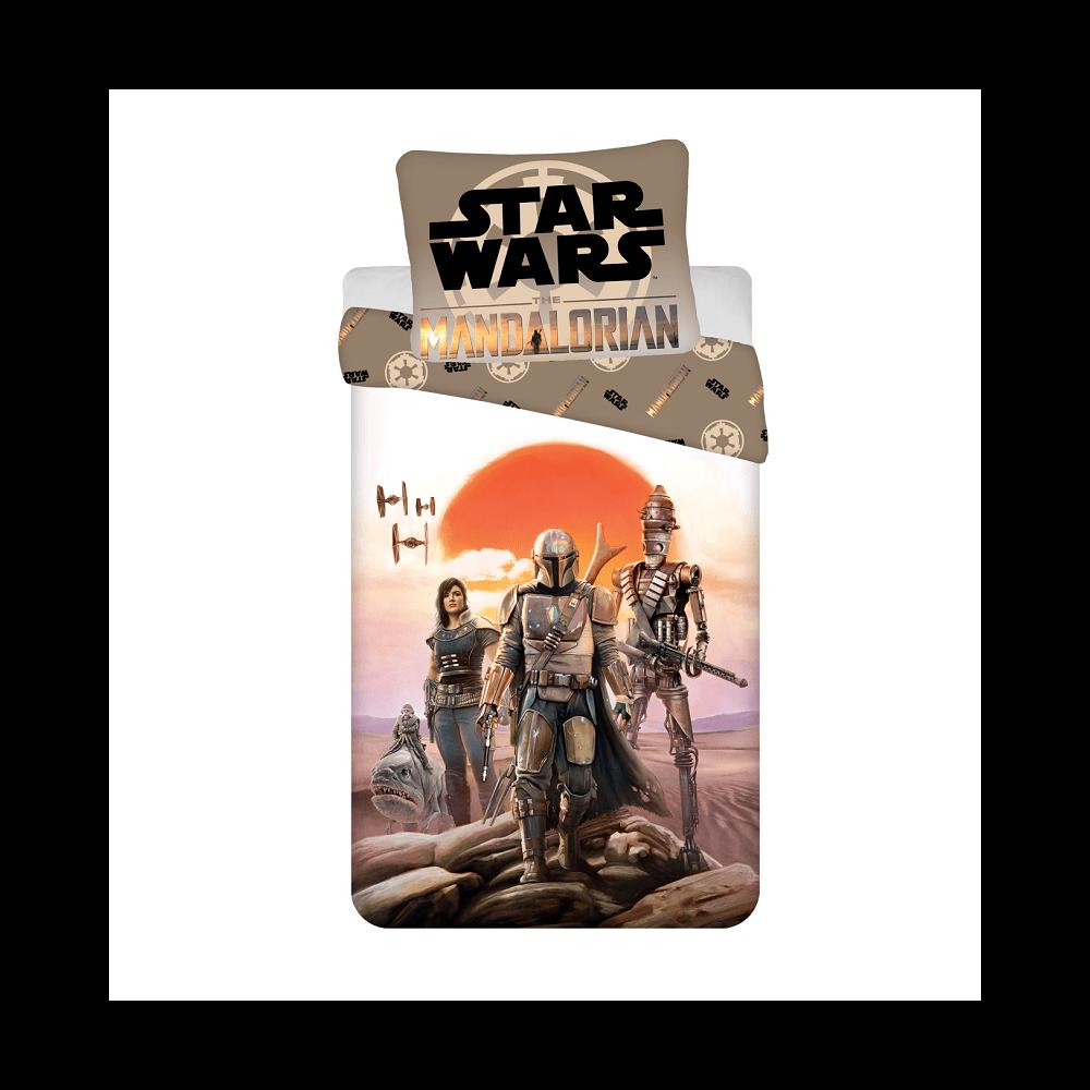 Star Wars Mandalorian 2 reszes Disney pamut-vaszon gyerek agynemuhuzat