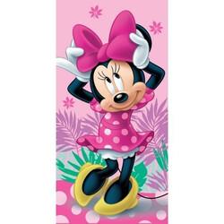 Minnie egér pink pamut törölköző 70x140 cm